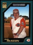 2001 Topps #332  Jack McKeon  Front Thumbnail