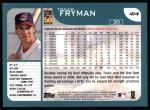 2001 Topps #414  Travis Fryman  Back Thumbnail