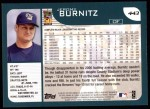 2001 Topps #443  Jeromy Burnitz  Back Thumbnail