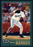 2001 Topps #126  Kevin Barker  Front Thumbnail