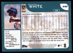 2001 Topps #442  Rondell White  Back Thumbnail