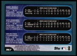 2001 Topps #367  Bobby Bradley / Kurt Ainsworth / Chin-Tsu Tsao  Back Thumbnail