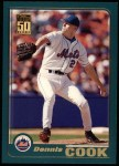2001 Topps #156  Dennis Cook  Front Thumbnail