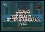 2001 Topps #763   Miami Marlins Team Front Thumbnail