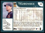 2001 Topps #29  Eddie Taubensee  Back Thumbnail