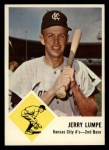 1963 Fleer #16  Jerry Lumpe  Front Thumbnail