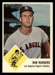 1963 Fleer #20  Bob Rodgers  Front Thumbnail