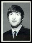 1964 Topps Beatles Black and White #157  John Lennon  Front Thumbnail