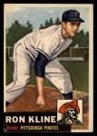 1953 Topps #175  Ron Kline  Front Thumbnail