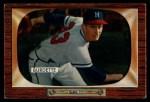 1955 Bowman #70  Lew Burdette  Front Thumbnail