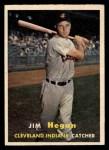 1957 Topps #136  Jim Hegan  Front Thumbnail
