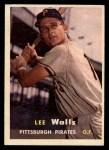 1957 Topps #52  Lee Walls  Front Thumbnail