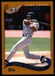 2002 Topps #233  Jeffrey Hammonds  Front Thumbnail