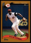 2002 Topps #19  Dmitri Young  Front Thumbnail