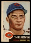 1953 Topps #162  Ted Kluszewski  Front Thumbnail