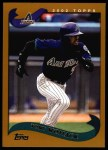 2002 Topps #96  Tony Womack  Front Thumbnail