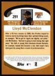 2002 Topps #291  Lloyd McClendon  Back Thumbnail