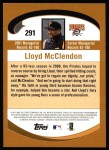 2002 Topps #291  Lloyd McClendon  Back Thumbnail