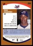 2002 Topps #318  Juan Tolentino   Back Thumbnail