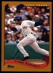 2002 Topps #125  Manny Ramirez  Front Thumbnail