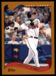 2002 Topps #410  Chipper Jones  Front Thumbnail