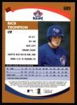 2002 Topps #689  Rich Thompson   Back Thumbnail