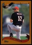 2002 Topps #108  Wade Miller  Front Thumbnail