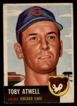 1953 Topps #23  Toby Atwell  Front Thumbnail