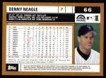 2002 Topps #66  Denny Neagle  Back Thumbnail