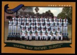 2002 Topps #668   Tampa Bay Devil Rays Front Thumbnail
