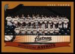 2002 Topps #653   Houston Astros Front Thumbnail