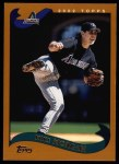2002 Topps #416  Mike Morgan  Front Thumbnail