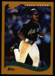 2002 Topps #73  Danny Bautista  Front Thumbnail