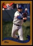 2002 Topps #32  Orlando Cabrera  Front Thumbnail