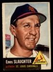 1953 Topps #41  Enos Slaughter  Front Thumbnail