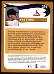 2002 Topps #334   -  Bud Smith  Highlights Back Thumbnail
