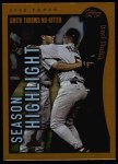 2002 Topps #334   -  Bud Smith  Highlights Front Thumbnail