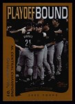 2002 Topps #356   Houston Astros - Playoff-Bound Front Thumbnail
