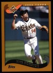 2002 Topps #153  Mike Bordick  Front Thumbnail