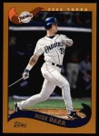 2002 Topps #549  Mike Darr  Front Thumbnail