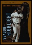 2002 Topps #332   -  Barry Bonds  Highlights Front Thumbnail