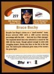 2002 Topps #277  Bruce Bochy  Back Thumbnail