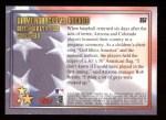 2002 Topps #357   -  Diamondbacks vs Astros United We Stand Back Thumbnail