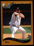 2002 Topps #205  David Wells  Front Thumbnail