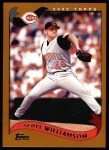 2002 Topps #103  Scott Williamson  Front Thumbnail