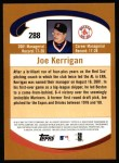 2002 Topps #288  Joe Kerrigan  Back Thumbnail