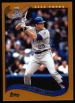 2002 Topps #21  Mike Sweeney  Front Thumbnail