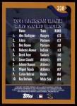 2002 Topps #338   -  A.Rod / Ichiro Suzuki / Boone League Leaders Back Thumbnail