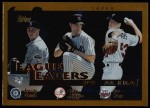 2002 Topps #341   -  Garcia / Mussina / Mays League Leaders Front Thumbnail