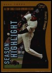 2002 Topps #336   -  Barry Bonds  Highlights Front Thumbnail